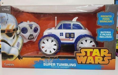 Carrinho de controle remoto Star Wars Super Tumbling
