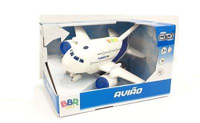 Avião com sons e luzes