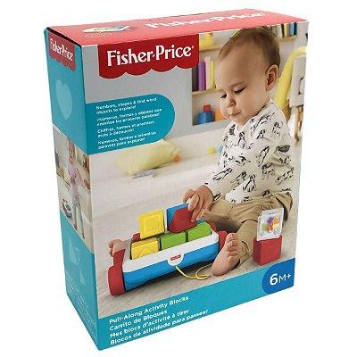 Fisher Price Carrinho com Blocos