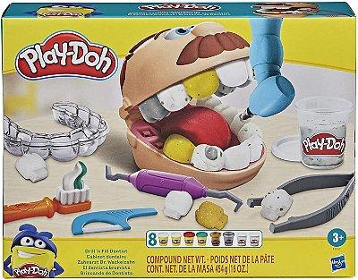 Play Doh Brincando de dentista
