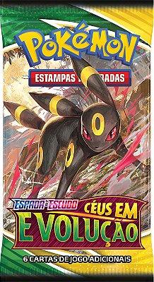 Cartas Pokémon Espada e Escudo Série 7 Céus em Evolução