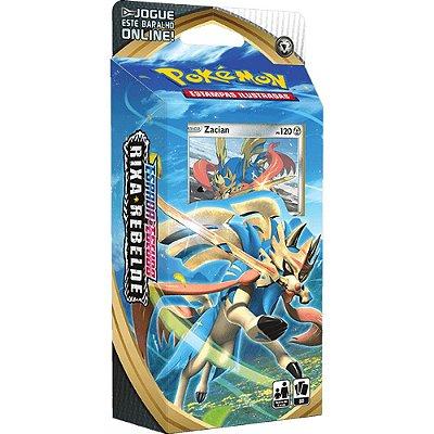 Carta Pokémon Espada e Escudo 2 - Starter Deck -Rixa Rebelde