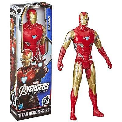 Vingadores Boneco Homem de Ferro Titan Hero