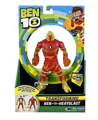 Ben 10 Deluxe Transforming figures