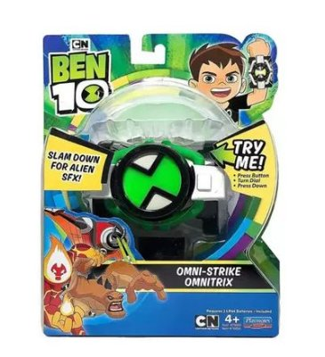 Ben 10 Omnitrix Omni-Strike  com luz e som