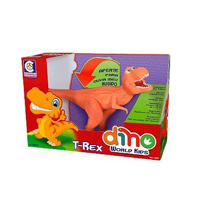 Dino World Kids T Rex Laranja