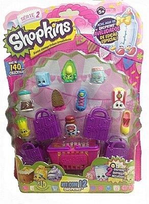 Shopkins Kit Blister com 12