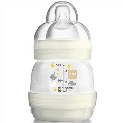 Mamadeira First Bottle 0+ meses 130ml