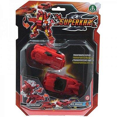 Superkar Transformação - Red Dragon Fogo