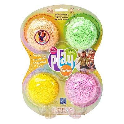 Playfoam Massinha de Modelar com 4 cores brilhantes