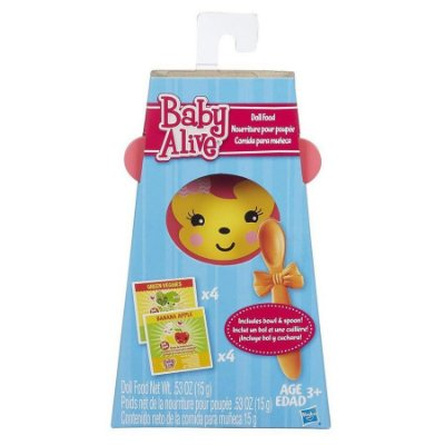 Baby Alive Refil Comida para boneca