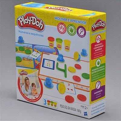 Play-Doh Aprendendo os Números