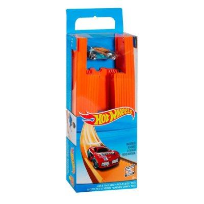 Hot Wheels Conjunto Carro e Pista