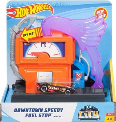 Hot Wheels - City Conjunto Básico