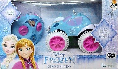 Carrinho de Controle Remoto Frozen Giro Gelado