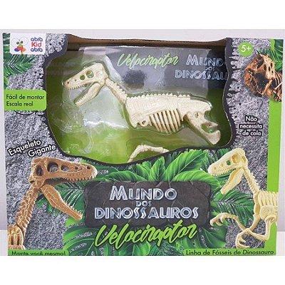 Mundo dos Dinossauros - Velociraptor