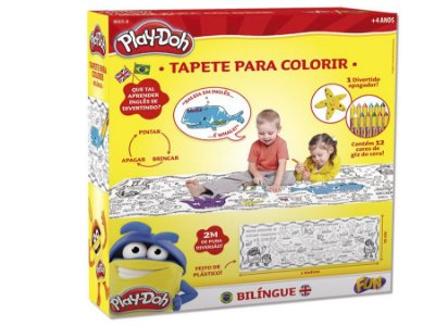 Play-Doh Tapete Para Colorir - Bilingue