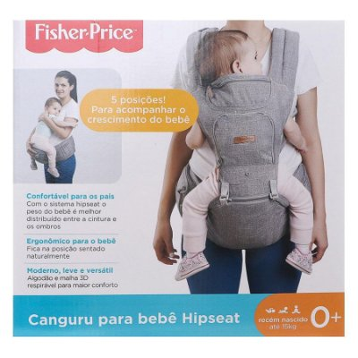 Canguru P/Bebê - Fisher-Price Preto