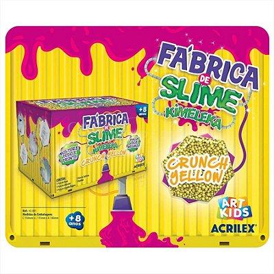 Kimeleka Fábrica de Slime - Crunch Yellow