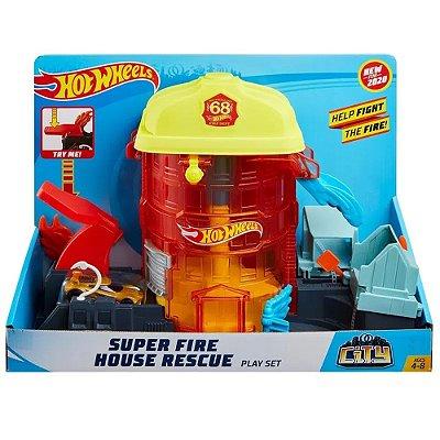 Hot Wheels - Super quartel dos bombeiros
