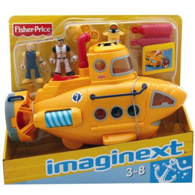 Imaginext -  Submarino Aventura