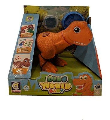 Dino World Babys - Carnotauro Massinha