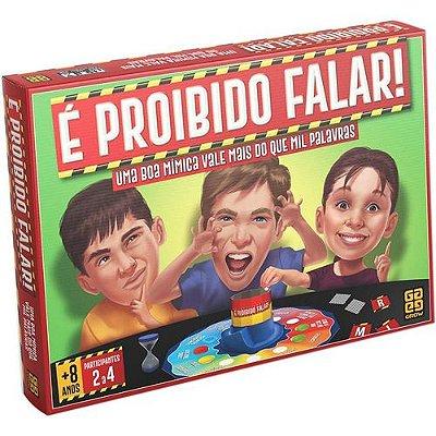 Jogo é proibido falar