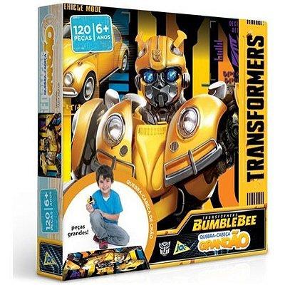 Quebra-cabeça Transformers Bumblebee 120 Pc Grandão