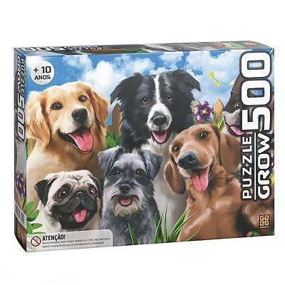 Puzzle 500 peças Selfie Pets