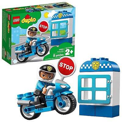 Lego Duplo Motocicleta da Polícia