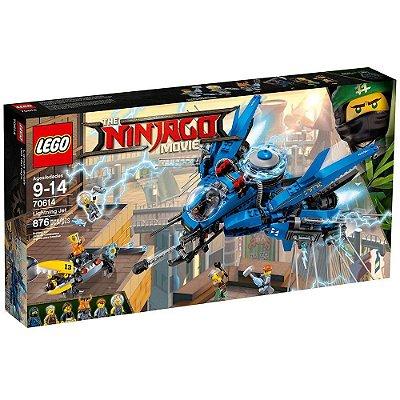 Lego Ninjago Avião Relâmpago