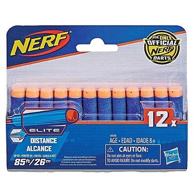 Nerf Elite Dardos Com 12