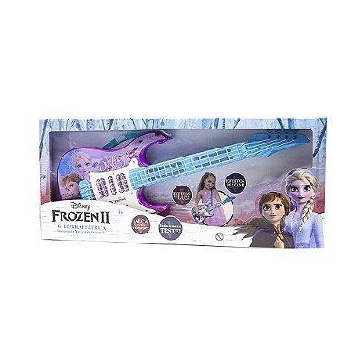 Guitarra Frozen 2 Com Luz