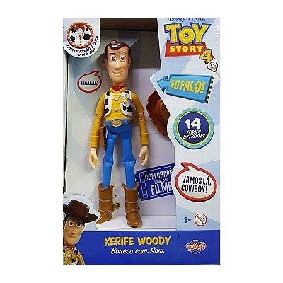 Toy Story 4 Boneco Woody com som