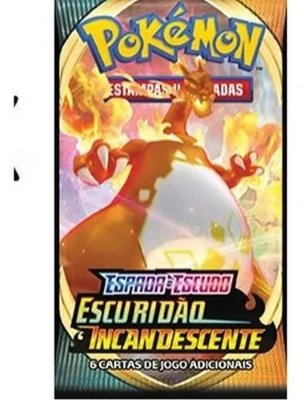 Cartas Pokemon Espada e Escudo S.3 - Escuridão Incandescente - Booster