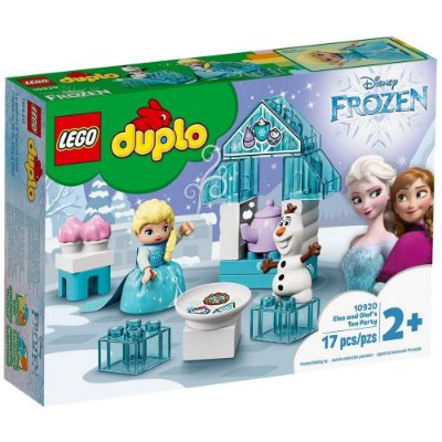 Lego Duplo Festa do cha da Elsa e Olaf