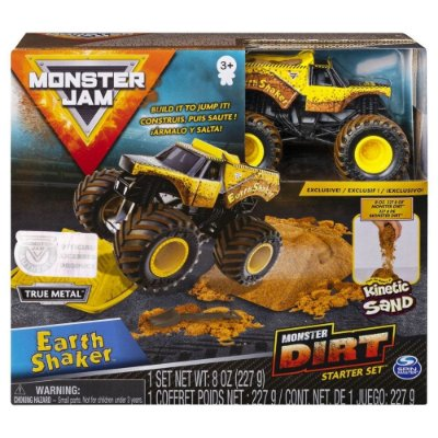 Monster Jam Playset com Pista