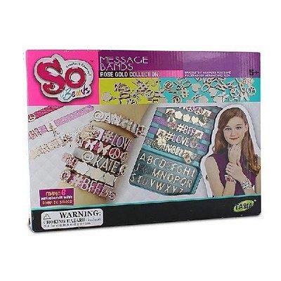 My Style Kit de pulseiras com letras