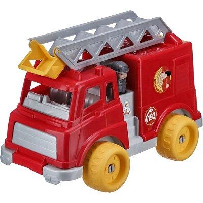 Caminhão de Bombeiro c/ Blocos
