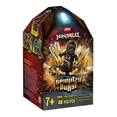 Lego Ninjago Rajada de Spinjitzu Cole