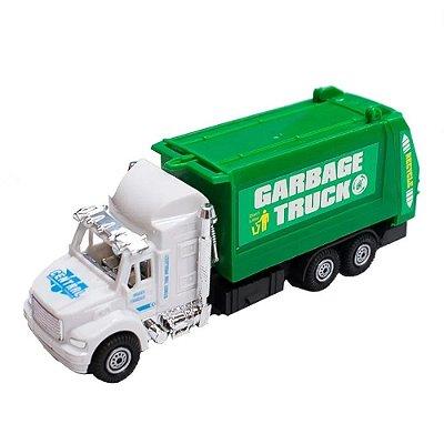 Caminhão de Lixo Fricção