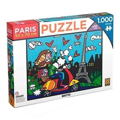 Puzzle Romero Britto Paris 1000 peças
