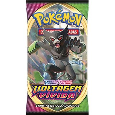 Carta Pokémon Booster Espada e Escudo Série 4 -  Voltagem Vívida