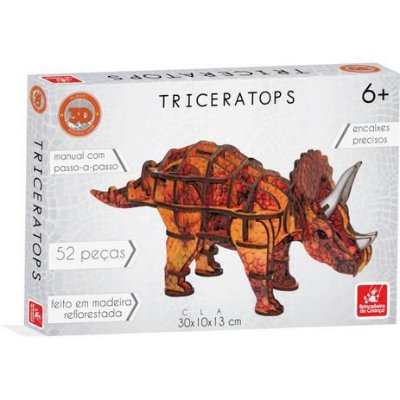 Planet Adventure Triceratops 3D