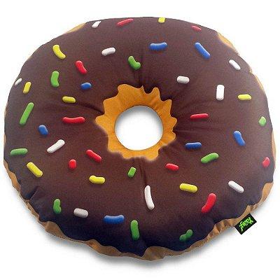 Almofada Donut Chocolate