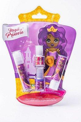 kit Maquiagem Magia de Princesa Corajosa