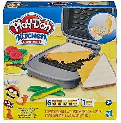 Play Doh Sanduiche de Queijo