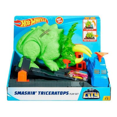 Hot Wheels Ataque De Triceratops