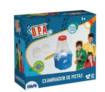 Examinador de pistas DPA
