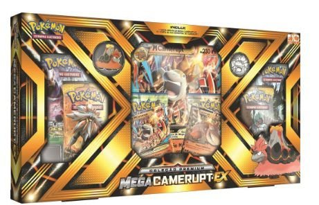 Pokémon Box Mega Camerupt - Sharpedo
